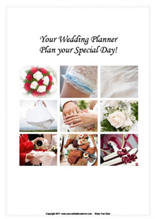 printable wedding planner