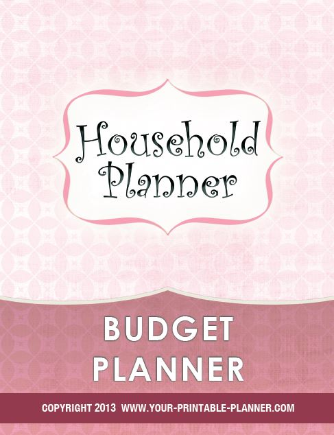 budget planner pages