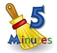 house cleaning list - five minute jobs