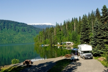 Cheap honeymoons don't mean boring. Rent an RV and go exploring