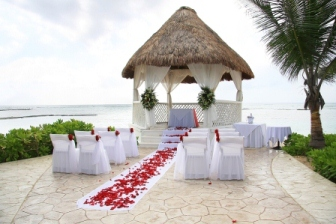 Destination weddings to tropical locations are popular in every season