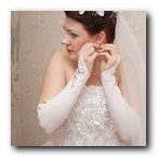 brides gown and suits
