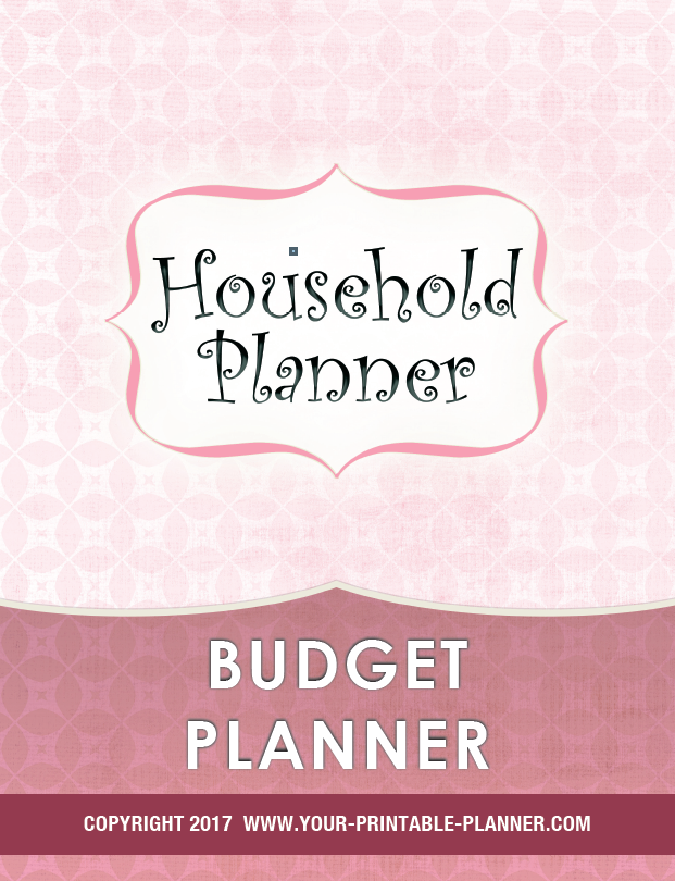 Budget Planner Cover Page 2017